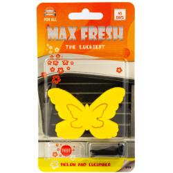 Ароматизатор за автомобил - пеперуда - краставица и пъпеш