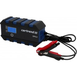 Дигитално зарядно DP6.0 - 6V/2A + 12V 2A/6A