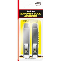 Адаптер за чистачки HEYNER HYBRID BAYONET LOCK - 2бр. Блистер
