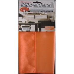 Микрофибърна кърпа, универсална, оранж - неон