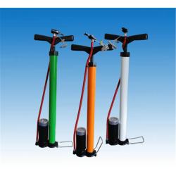 Вело - Помпа с манометър - права FISCHER