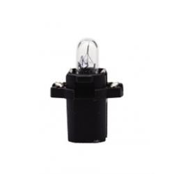 Крушка за табло 17036 12V 1,2W B8,3d черен цокъл